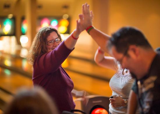Disney Parks Blog Readers Strike Up Fun at Splitsville Meet-Up at Downtown Disney at Walt Disney World Resort