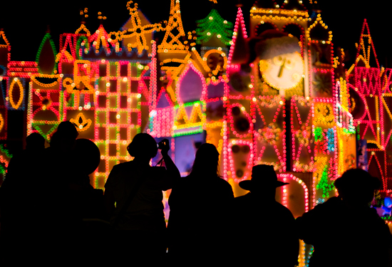 Disney Parks After Dark: 'it's a small world' Holiday at Disneyland Resort