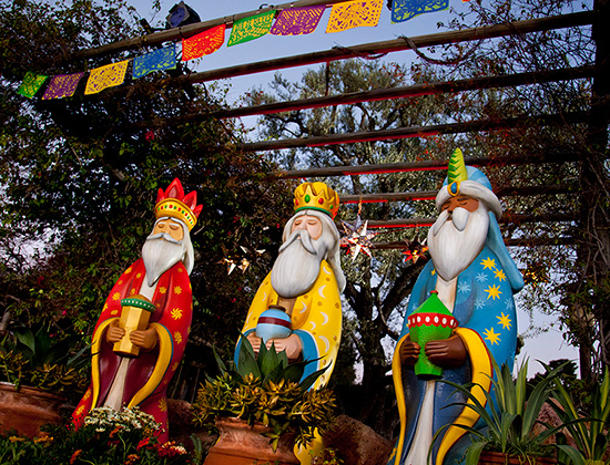 Three Kings Day at Disneyland Park