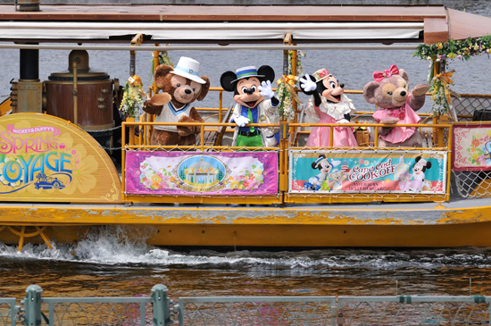 Mickey & Duffy's Spring Voyage at Tokyo DisneySea Will Debut in 2013