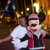 Meet-Up welcome with Mickey Mouse.