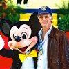 Ted Danson attends the Grand Opening Celebration of Mickey&#8217;s Toontown at Disneyland park in January 1993