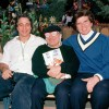 Tony Danza, Danny DeVito and John Davidson attend the Grand Opening Celebration of Mickey's Toontown at Disneyland park in January 1993