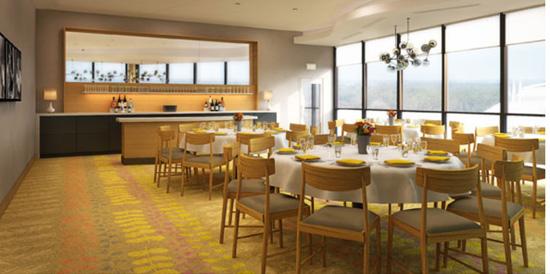 California Grill dining room