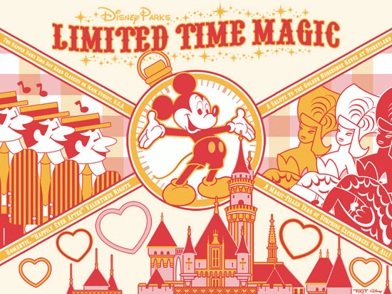 Download Our Disney Parks 'Limited Time Magic' Wallpaper