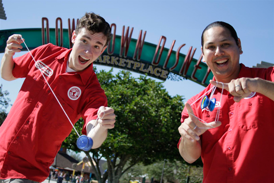 Meet Duncan Yo-Yo Professionals at Walt Disney World Resort