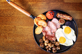 Full Irish Breakfast at Raglan Road Irish Pub &#038; Restaurant Sunday Brunch at Downtown Disney Pleasure Island