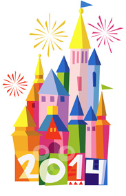 Vote and Help Choose Our 2014 Disney Art Design - Option 1