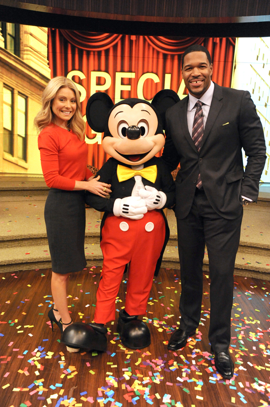 Attend LIVE with Kelly and Michael Tapings at Magic Kingdom Park at Walt Disney World Resort