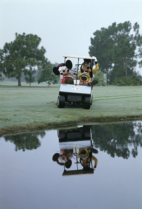 Caption This: A Day on the Golf Course With Mickey &#038; Goofy