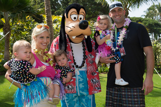 NFL Player Matt Schaub of the Houston Texans at Aulani, a Disney Resort & Spa for the Aulani Pro Bowl Reception