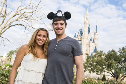 Disney Newsies Star Corey Cott Honeymoons at Walt Disney World Resort
