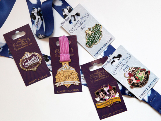 Commemorative Merchandise for runDisney Events in Early 2013