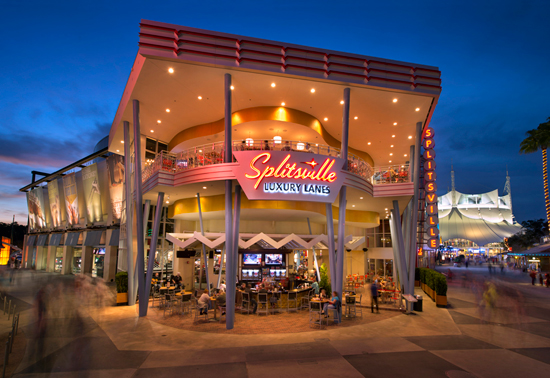 Splitsville Hosting Super Bowl-ing Party at Downtown Disney at Walt Disney World Resort