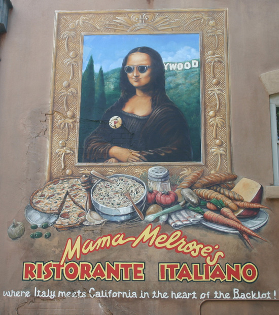 Inside Mama Melrose's Ristorante Italiano at Disney's Hollywood Studios
