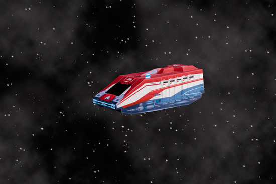 Build Your Own Star Tours Starspeeder 1000