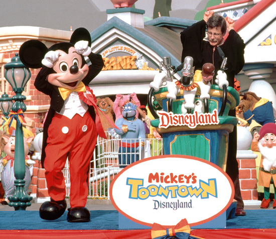 A Look Back: Mickey's Toontown Grand Opening Celebration at Disneyland Park