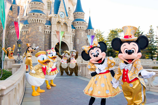 Take A Sneak Peek at the Costumes Disney Characters Will be Wearing for Tokyo Disneyland's 30th Anniversary Celebration