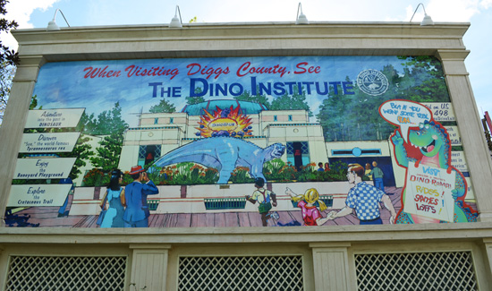 Finish that Disney Parks Sign: When Visiting Diggs County...