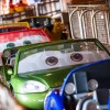 Cals Line Up to Take a Spin on Radiator Springs Racers at Disney California Adventure Park
