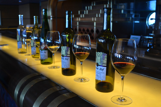 Wine Tasting on the Disney Magic