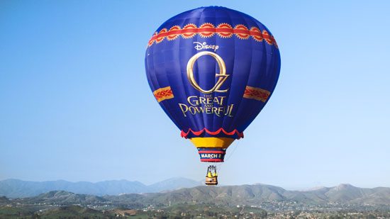 """Oz, The Great And Powerful"" Balloon to Land At The Disneyland Resort"