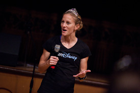 Defending Princess Half Champion and Back-to-Back Disneyland Half Winner Rachel Booth