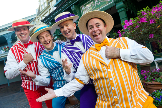 Dapper Dans Perform Boy Band Hits at Disney Parks for 'Limited Time Magic'