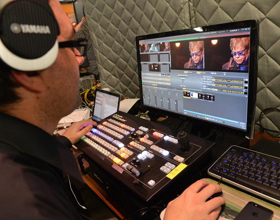 Yamaha's DisklavierTV, Powered by RemoteLive Technology Allowed Elton Johns Performance to be Shared Live Around the World