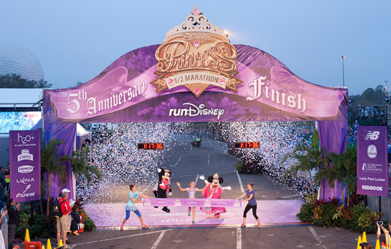 Rachel Booth Wins Her Second Disney's Princess Half Marathon