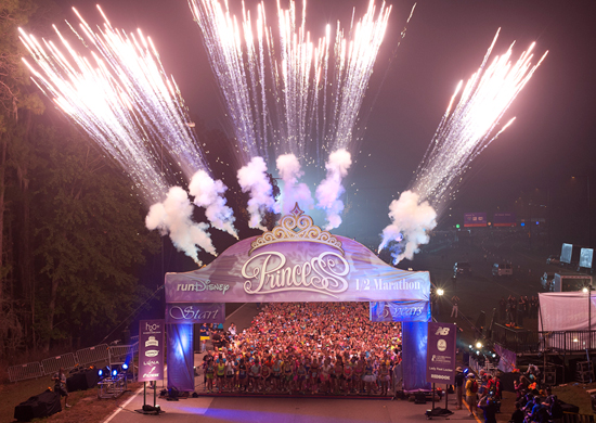 5th Annual Disneys Princess Half Marathon Begins at Walt Disney World Resort