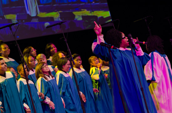 Come 'Celebrate Gospel' at Disney California Adventure Park February 16