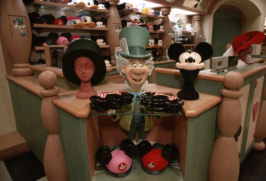 caption this mad as a hatter at magic kingdom park