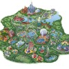 Modern Walt Disney World Resort Map