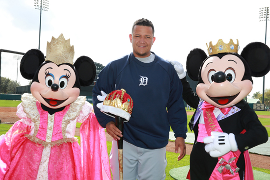 Detroit Tigers Third Baseman Miguel Cabrera Visits the ESPN Wide World of Sports Complex