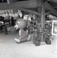 Orange Bird at Lake Buena Vista Shopping Village (Now Downtown Disney) in the 1970s