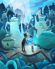 Oz The Great and Powerful-Inspired Art Coming to the Disneyland Resort, Featuring China Town