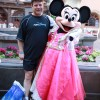 Sean Astin and &#8216;Princess&#8217; Minnie.