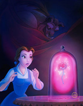 Artist William Silvers Will Appear at Off the Page Inside Disney California Adventure Park for a Special ACME Archives Sericel Event - Including 'Enchanted Rose,' One His Newest Hand-Painted Sericels