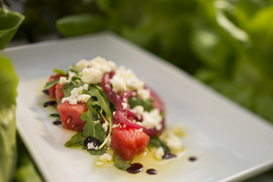Watermelon Salad, One of the TRYit Tastes for Kids at the Epcot International Flower &#038; Garden Festival