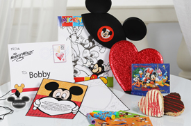 Mickey's Valentine Surprise from Disney Floral &#038; Gifts Makes the Memory of a Lifetime for Your Little Valentine at Walt Disney World Resort