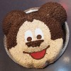 Ten Character-Inspired Treats at Disney Parks, Featuring Mickey Mouse Rice Krispie Cake