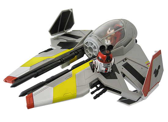 First Look at Star Wars Weekends 2013 Merchandise Including The Jedi Mickey's Starfighter