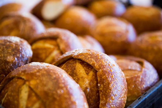 Behind the Scenes at Boudin Bakery in Disney California Adventure Park
