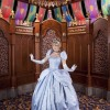 Cinderella Visits Her New Home at Fantasy Faire in Disneyland Park