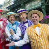 The Dapper Dans go boy band at Magic Kingdom Park.