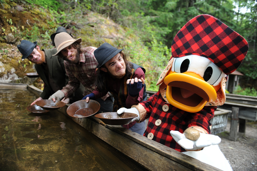 Disney Cruise Line Port Adventure: Liarsville Gold Rush Trail Camp and Salmon Bake Featuring Exclusive Disney Character Experience