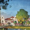 LAKE BUENA VISTA, Fla., March 12, 2013 – Along with an eclectic and contemporary mix from Disney and other noteworthy brands, Disney Springs (as shown in this conceptual rendering) will feature a new gateway with a signature water tower and grand entry.