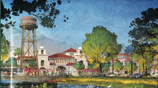Announcing Disney Springs at Walt Disney World Resort