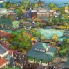 LAKE BUENA VISTA, Fla., March 12, 2013 – With a flowing spring as a centerpiece, Disney Springs will feature four outdoor neighborhoods including the two shown in an artist's conceptual rendering. The Town Center (lower portion of the image) will offer one-of-a-kind shopping and dining experiences along a promenade while The Landing (upper portion of the image) will include inspired dining and beautiful waterfront views.